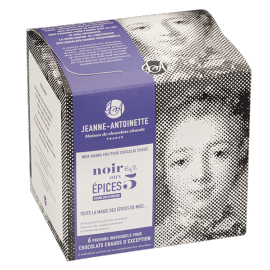 Chocolat Noir aux 5 épices - Chocolat en poudre par Jeanne Antoinette